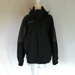 Men's Zero Xposur Black Outer Jacket SHELL Only